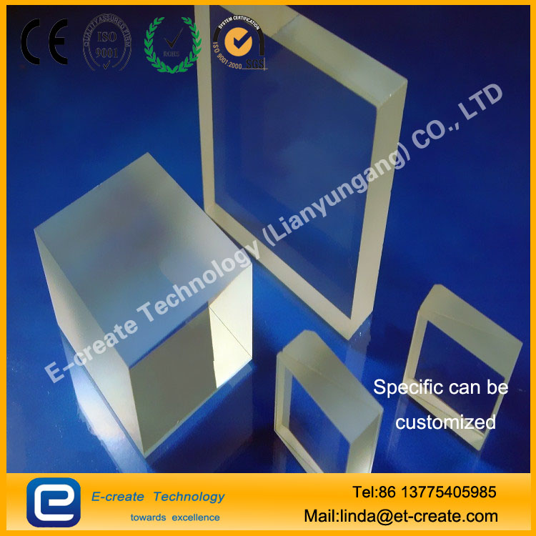 For the protection of high precision optical industry quartz substrate thickness of 0.1mm above the ultra-thin quartz film