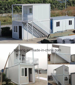 20FT 40FT Prefab Furnished Modified Shipping Container House