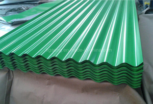 Factory Price Color Coated Corrugated Roofing Sheet for Namibia