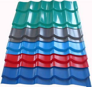 China Wholesale Price Gi Corrugated Roofings/ Color Coated Metal Roofing Tile