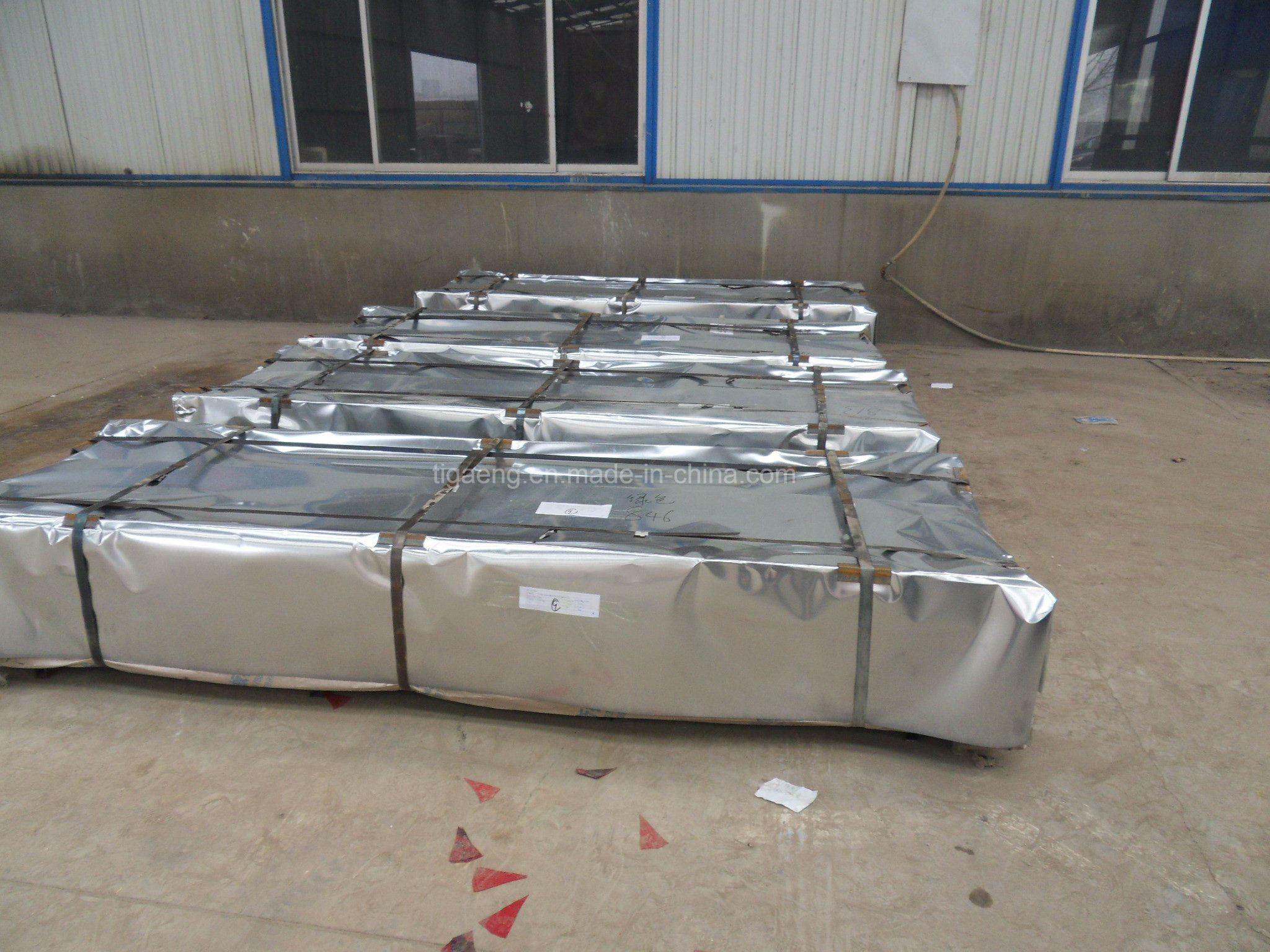 Good Quality Corrugated/Trapezoidal Galvanized Steel Wall Plate