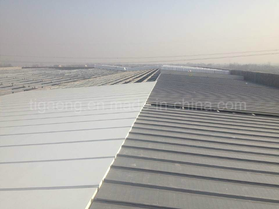 Fireproof Roof /Wall Panel 50mm Polyurethane PU Sandwich Panel