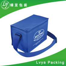 Customized logo printing insulated food delivery cooler bag