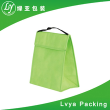 Hot product velcor fastening silver laminated non woven cooler bag for mooncake