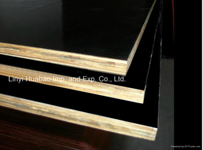 15mm Film Faced Plywood- Black Color