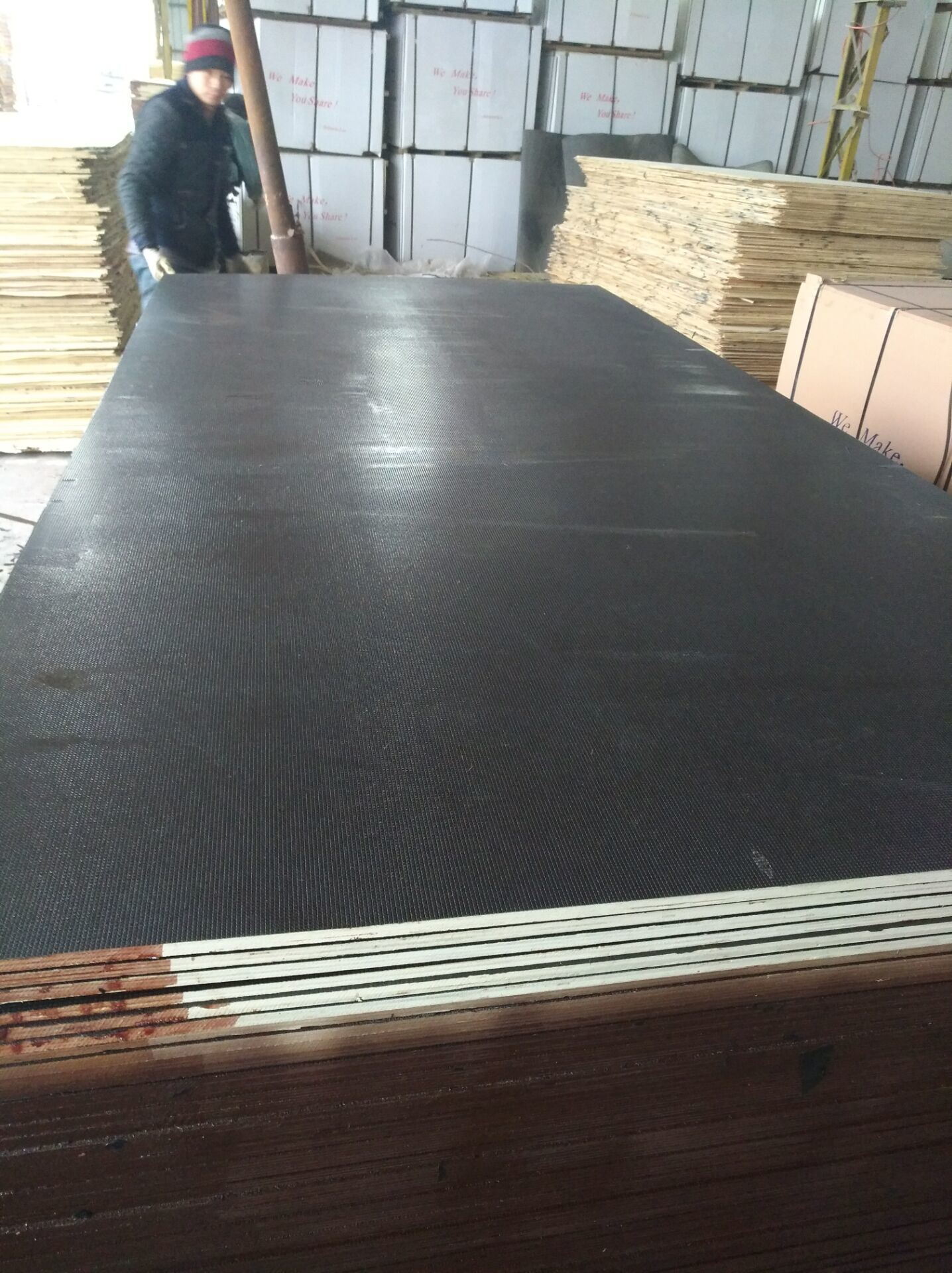 Eucalyptus&Nbsp; Core Anti-Slip Film Faced Plywood Brown Film