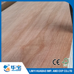 18mm Laminated Plywood with E1 Glue Poplar Core BB/CC Grade