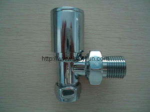 DN15 angle Lockshiled valve