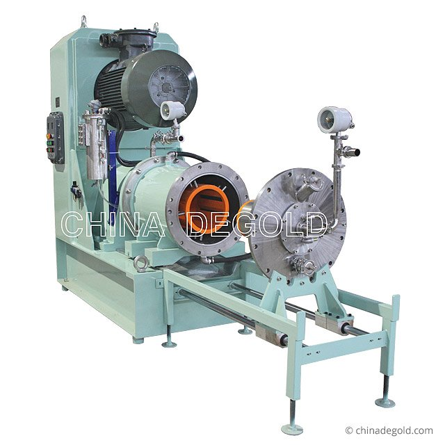 水牛闪电appZM-K系列150L纳米级大流量棒销式珠磨机