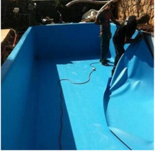 PVC Waterproof Membrane Used on Outdoor