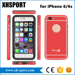 Popular High Quality Metal Waterproof Mobile Phone Case for iPhone6