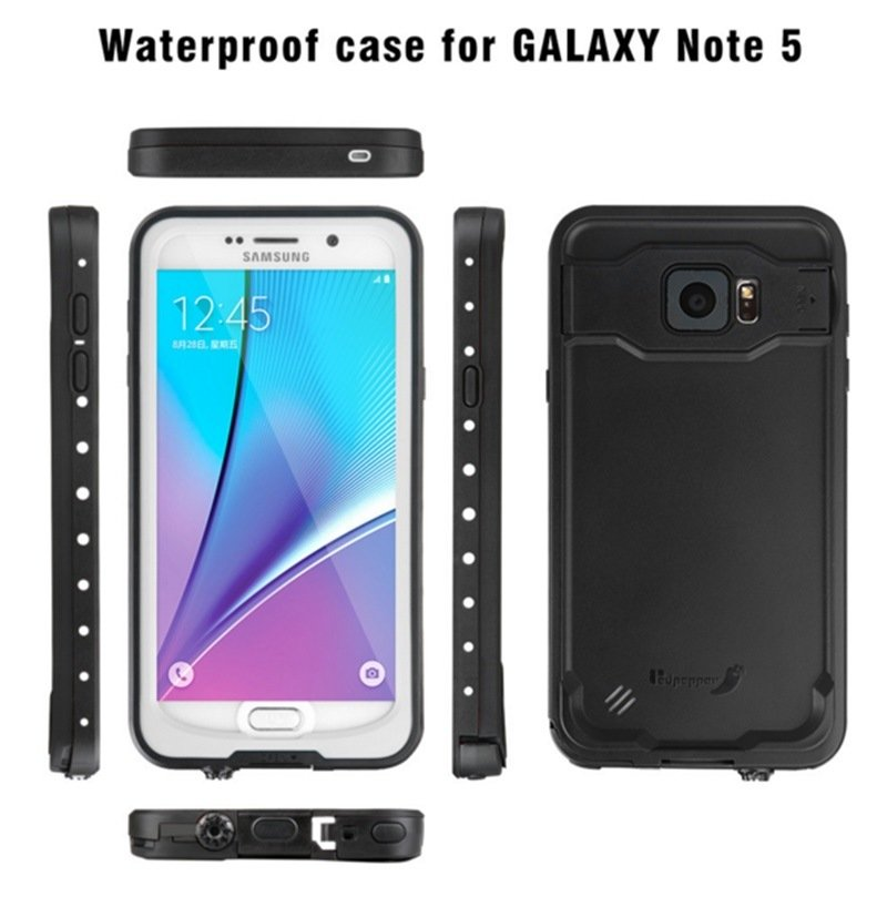 Swimming Protective Water/Dustproof Mobile Phone Case for Samsung Note 5