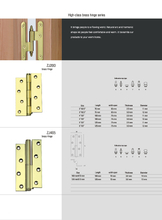 Hinges Material : Brass (2)