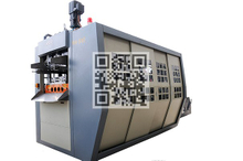 MX500 Full Servo Motor Driven Automatic Plaxtic Glass Thermoforming Machine
