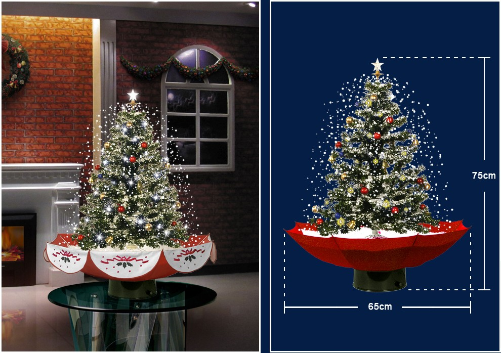 18030u075 Rs Indoor Christmas Tree Top Star Colorful