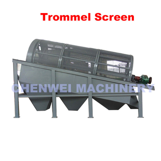 Municipal Solid Waste Trommel Screen