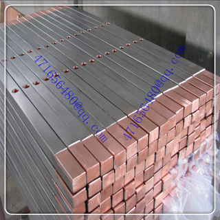 top quality ti clad copper bar for elec-trolyzing copper