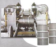 Complete Set of Production Line for Steel Barrel From Sally