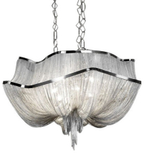 Atlantis Modern Chain Chandelier With 2 Tiers (7097)