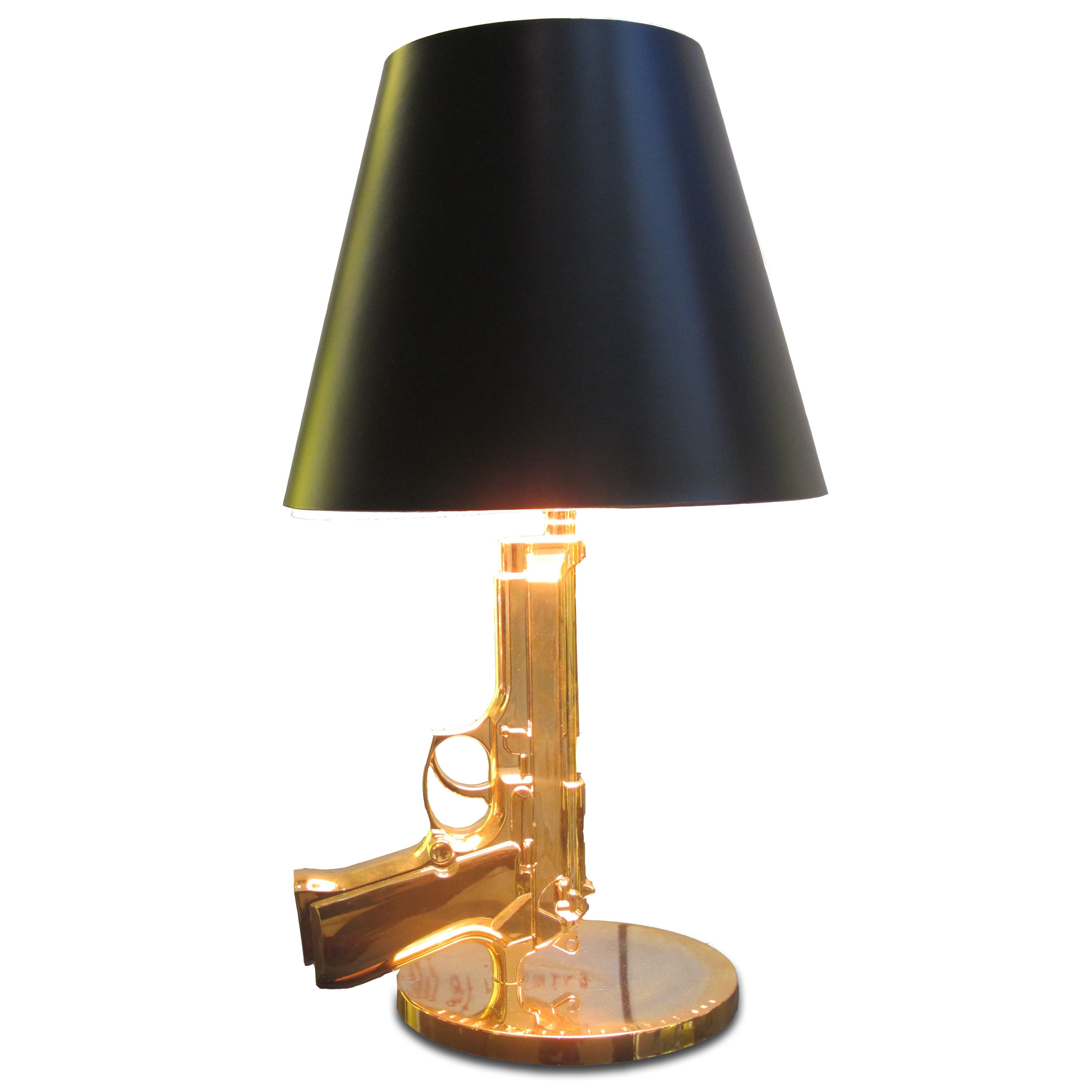 Gun shape home decorative table lamp, hotel project light from China ...