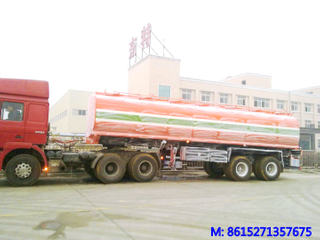 DTA 33000L Carbon Steel Tank Semi Trailer
