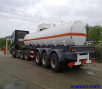 Strong acid Sulfuric acid tanker trailer dish round SHAPE 19000L<Customization>
