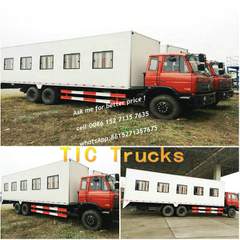 Truck Bus -customizing Chassis Cab bus on dongfeng chassis 6x4 ,10 wheels