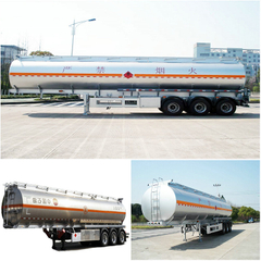Aviation fuel Aluminum Tanker Trailer- 45000L