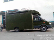 IVECO Military catering truck mobile food cart