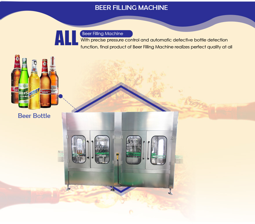 Automatic Beer Filling Machine