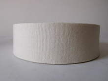 50mm white cotton webbing for garment and belt