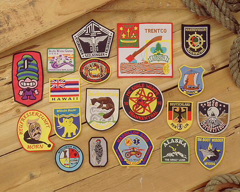 Embroidered Badges / Patches