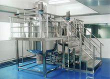 Liquid Washing Homogenizing Mixer
