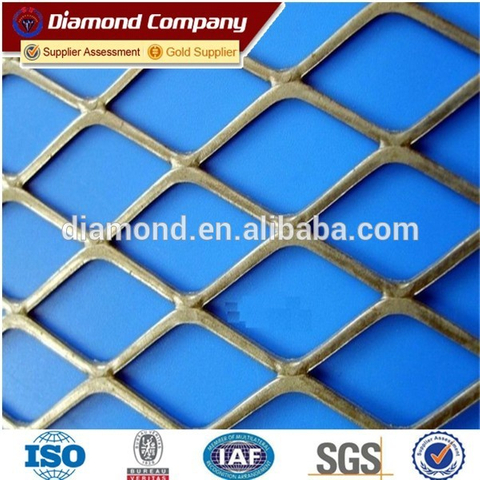 high quality small hole expanded metal mesh / expanded metal mesh price