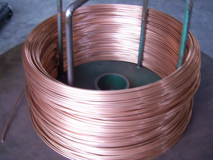 Copper capillary tube for refrigeration air conditioner