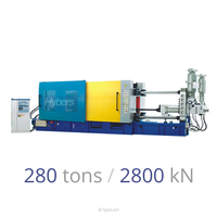 280tons/2800kN Cold Chamber Die Casting Machines