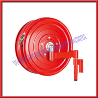 Manual swing fire hose reel