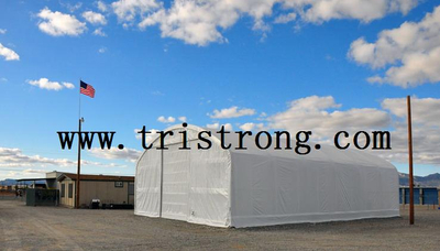 Trussed Frame Shelter, Large Warehouse, Prefabricated Building, Canopy (TSU-4060, TSU-4070)