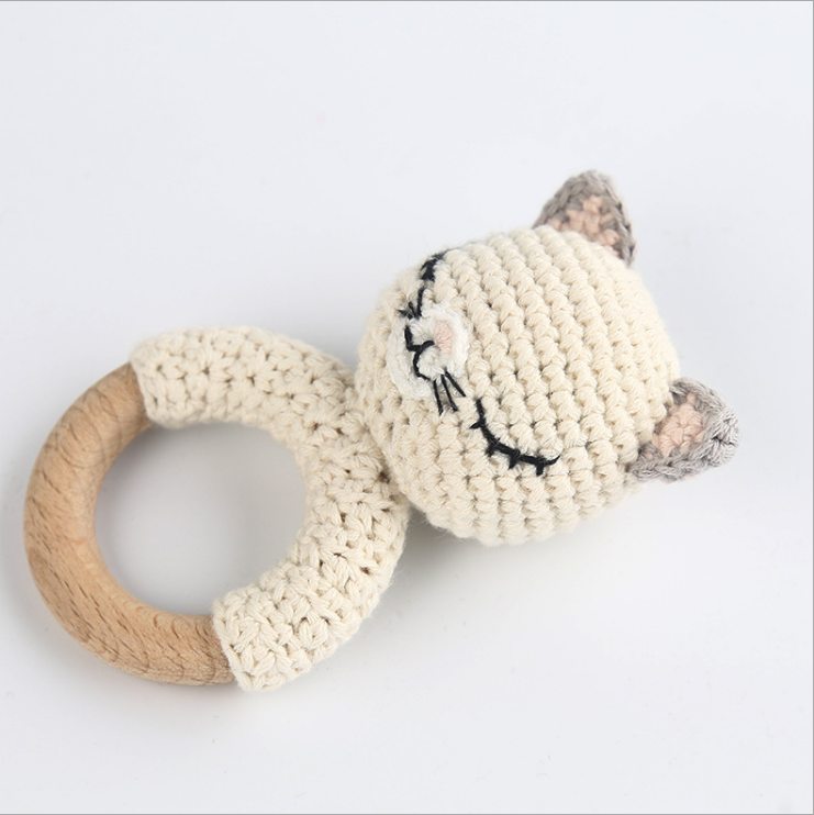 Hand Knitted wild animal bells