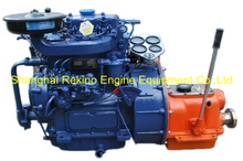 Siyang ZX2105J-1 24HP 1500RPM 28HP 2000RPM marine diesel boat engine set for open Yacht lifeboat