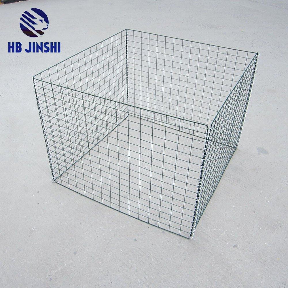 Garden Wire Leaf Collect Compost Bin 36 L X36 W X 30 H