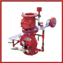 Preaction alarm check valve