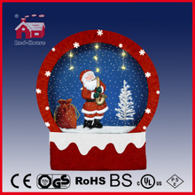 (40110F150-ST2-RR) Snowing Christmas Decorations with Frame-supported and Textile-decorated