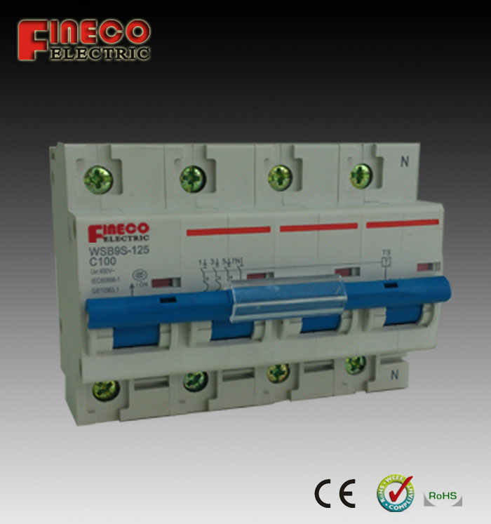 C63-125A three phase Smart MCB switch - Buy 3 phase switch, smart ...