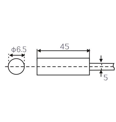 Lm6 M6 Inductive proximity switches sensors
