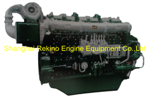 600HP 1000RPM Yuchai marine propulsion boat diesel motor engine (YC6CD600L-C20)