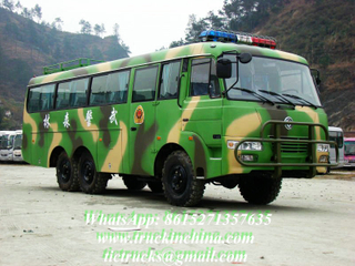 Dongfeng 6X6 EQ6840PT cross-country off-road bus