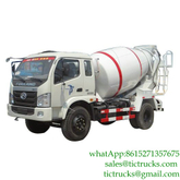 Mini 4m3 130HPSamll Concrete Machinery FOTON for sale LHD/RHD