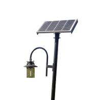 Solar Power LED Insecticidal Lamp Garden Lamp Yard Lawn Light