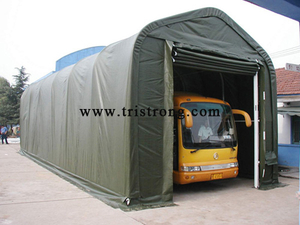 Shelter, Warehouse, Bus Carport, Bus Tent, Bus Parking (TSU-1850)